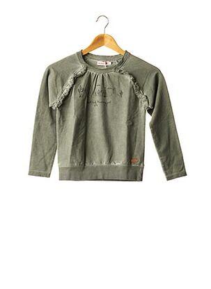 Sweat-shirt vert BOBOLI pour fille