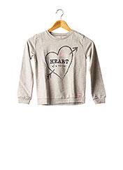 Sweat-shirt gris BOBOLI pour fille seconde vue