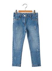 Jeans coupe slim bleu BOBOLI pour fille seconde vue