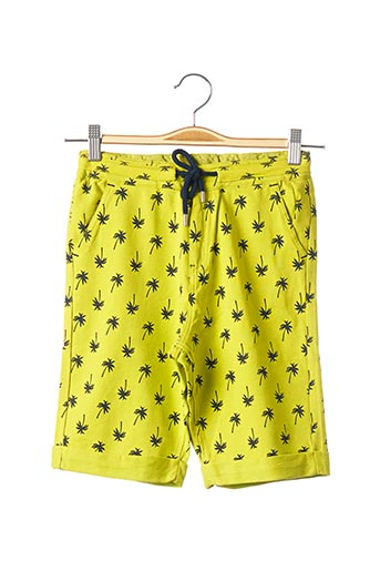 Bermuda jaune BOBOLI pour garçon