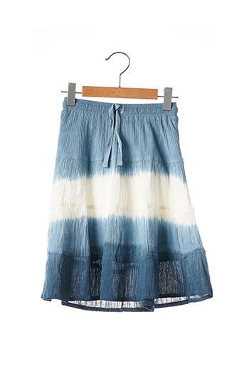 Jupe mi-longue bleu BOBOLI pour fille