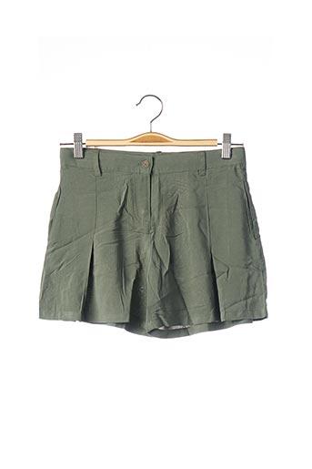 Short vert BOBOLI pour fille