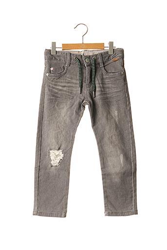 Jeans coupe droite gris BOBOLI pour garçon