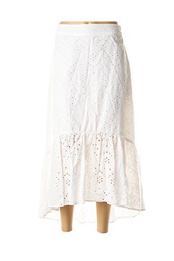 Jupe mi-longue blanc TIFFOSI pour femme