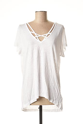 T-shirt manches courtes blanc TIFFOSI pour femme