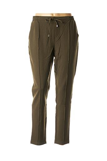 Pantalon casual vert TIFFOSI pour femme