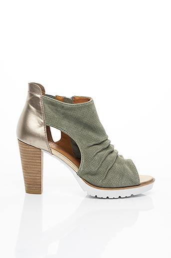 Bottines/Boots vert REGARDE LE CIEL pour femme