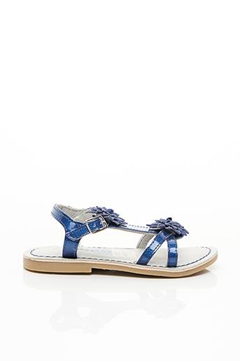 Sandales/Nu pieds bleu MOD 8 pour fille