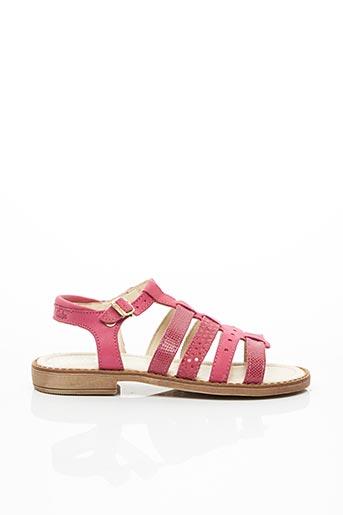 Sandales/Nu pieds rose ASTER pour fille