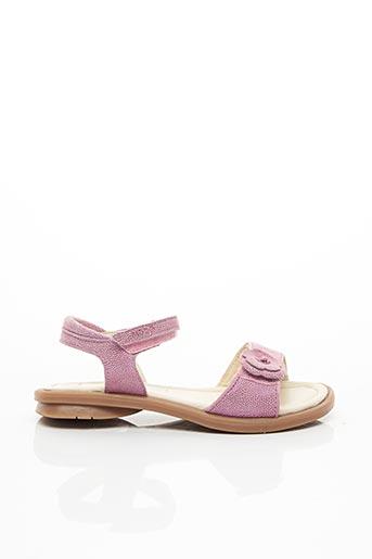 Sandales/Nu pieds rose MOD8 pour fille