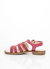 Sandales/Nu pieds rose ASTER pour fille seconde vue