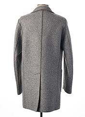 Manteau long gris MANUEL RITZ pour homme seconde vue