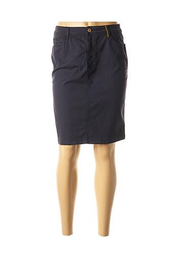 Jupe courte bleu COUTURIST pour femme