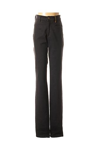 Pantalon casual noir COUTURIST pour femme