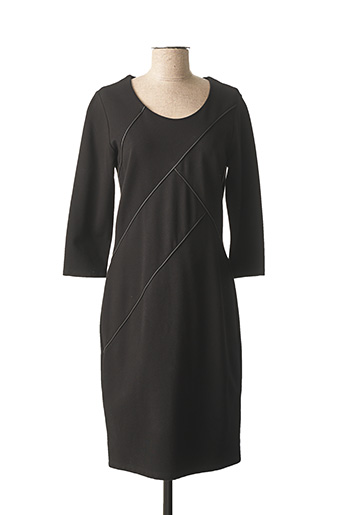 Robe mi-longue noir FRANK WALDER pour femme