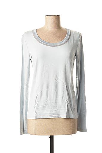 T-shirt manches longues bleu FUEGO WOMAN pour femme