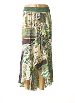 Jupe longue vert ALDO MARTIN'S pour femme