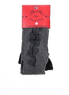 Collants gris BERTHE AUX GRANDS PIEDS pour femme