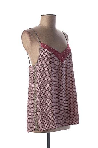 Pyjama rose LE CHAT pour femme