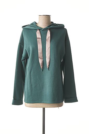 Sweat-shirt vert TIFFOSI pour femme