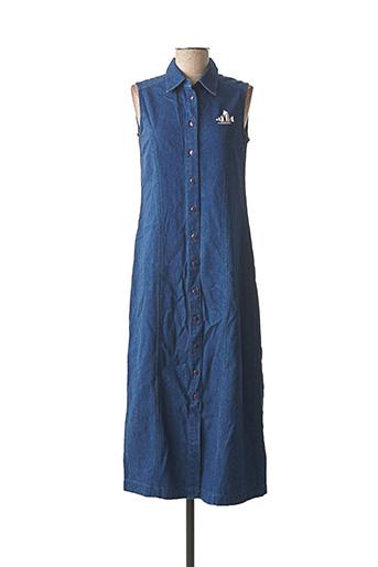 Robe longue bleu JAC JAC pour femme