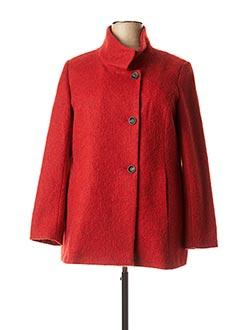 Manteau court rouge DIANE LAURY pour femme
