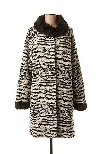 Manteau long blanc FRED SABATIER pour femme