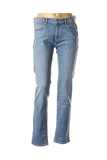 Jeans coupe slim bleu WRANGLER pour femme