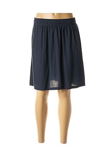 Jupe mi-longue bleu ARMOR LUX pour femme