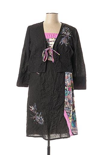 Veste/robe noir JAC JAC pour femme