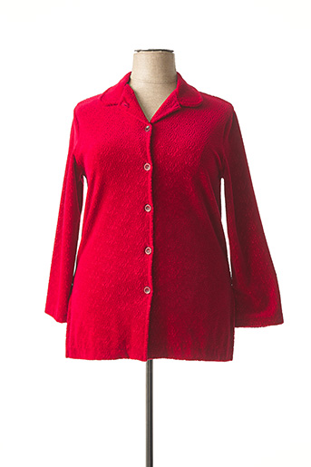 Veste casual rouge PAUSE CAFE pour femme