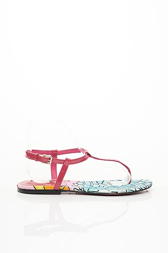 Sandales/Nu pieds rose ELMICO COVEIN pour femme