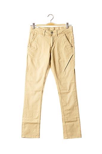 Pantalon casual beige PEPE JEANS pour garçon