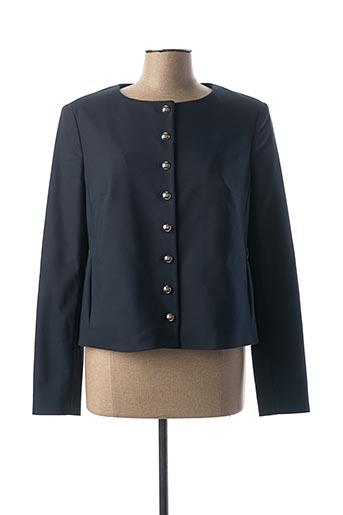 Veste casual bleu BANDOLERA pour femme