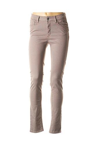 Jeans skinny gris COUTURIST pour femme