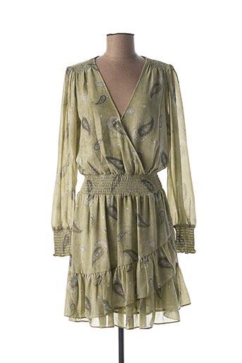 Robe mi-longue vert MICHAEL KORS pour femme