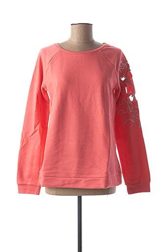 Sweat-shirt rose RICK CARDONA pour femme
