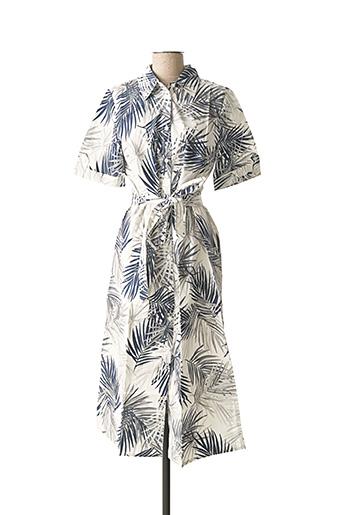 Robe longue bleu ASHLEY BROOKE pour femme