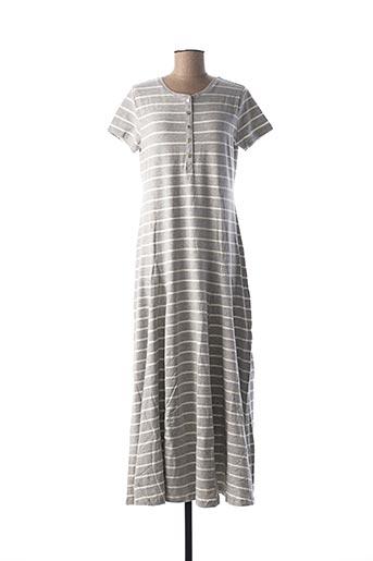Robe longue gris BEST CONNECTIONS pour femme