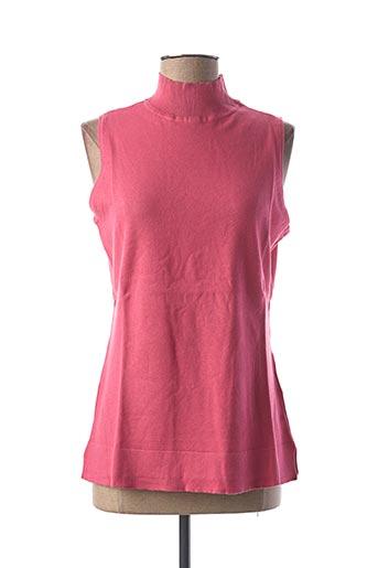 Pull col cheminée rose BEST CONNECTIONS pour femme