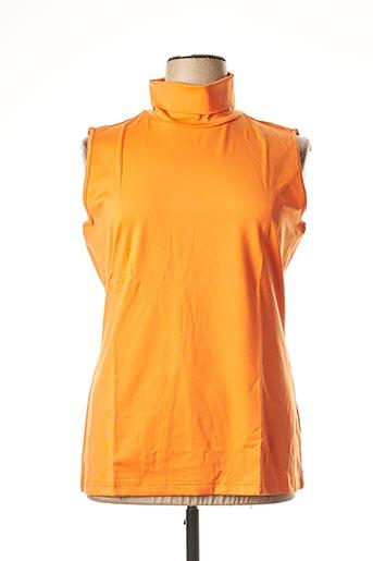 Top orange HEINE pour femme