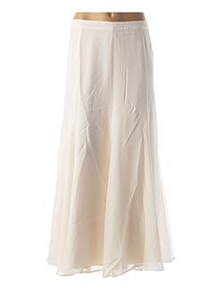 Jupe longue beige HEINE pour femme