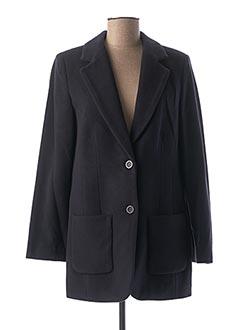 Manteau court bleu HEINE pour femme