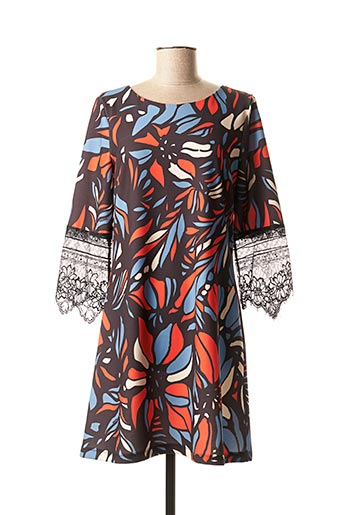 Robe courte noir FRACOMINA pour femme