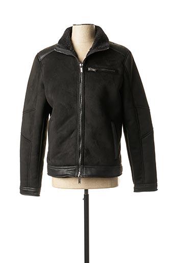 Manteau court noir GAUDI pour homme