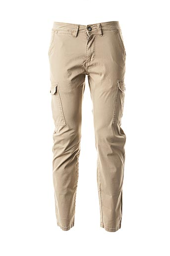 Pantalon casual beige GAUDI pour homme