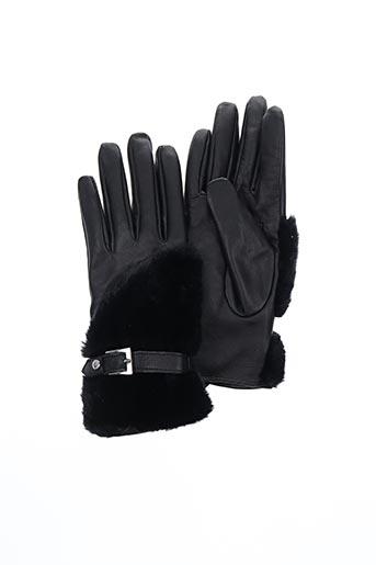 Gants noir MORGAN pour femme