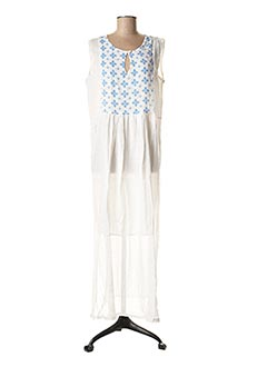 Robe longue bleu BAMBOO'S pour femme