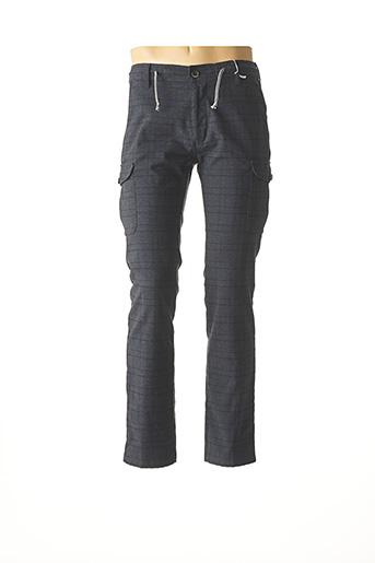 Pantalon casual bleu PIONIER pour homme