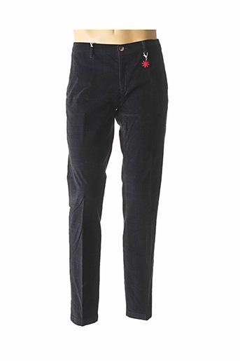 Pantalon chic noir MANUEL RITZ pour homme